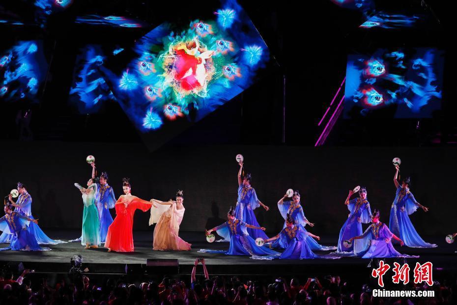 """""""杭州8分钟""""在亚运会闭幕式上演"""