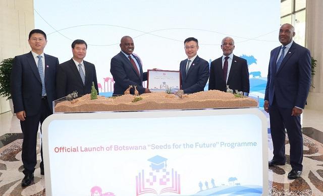 博茨瓦纳总统:期待华为助力国家数字化转型