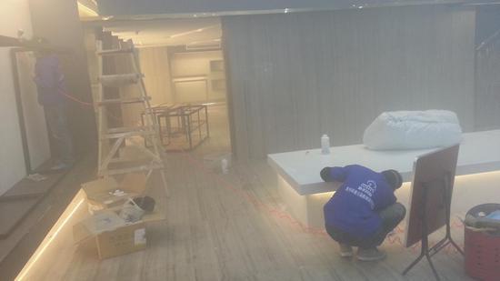 家庭装修施工现场(图片来源于网络)