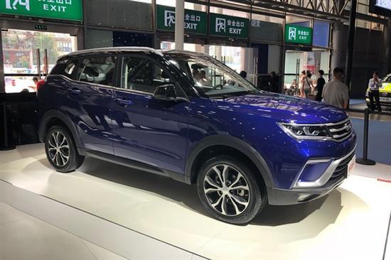 野马小型SUV T60亮相 2018年底上市