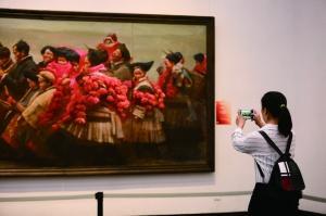 主题美术作品展 展示贵州多彩文化