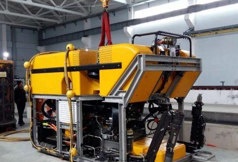 """中国无人潜水器""""海龙三号""""成功开展试验性应用"""