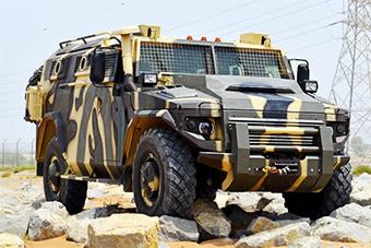 加拿大阿联酋新研发装甲车完全山寨俄虎式装甲车