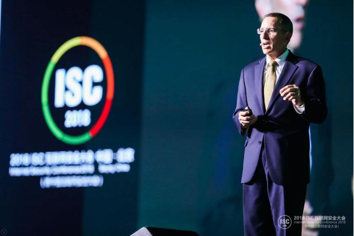 前美少将现身ISC2018谈网络安全与国家利益