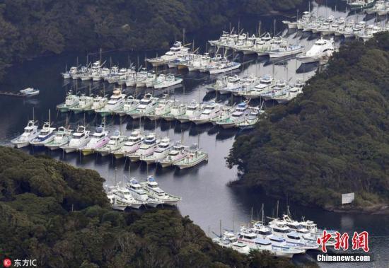 25年来最强台风登陆日本:大阪26万人接避难指示