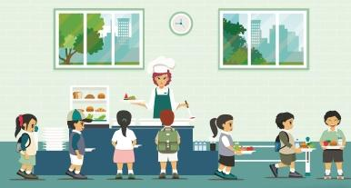 上海保障学生用餐安全:餐具需蒸汽消毒45分钟