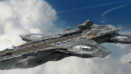 """无人机空中母舰——未来战场的""""飞天鹰巢"""""""