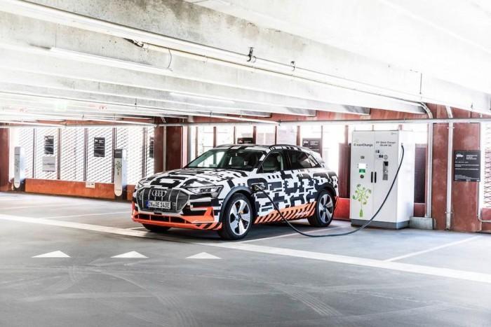 奥迪大规模量产首款电动SUV 曾称续航超500公里
