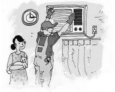 美的中央空调不制冷 售后一个多月没派人修理