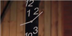 教你制作另类原木手工时钟