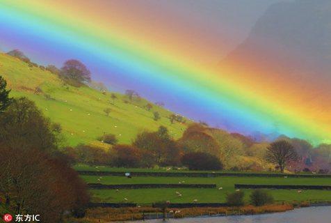世界各地彩虹美景:大自然画师的梦幻杰作
