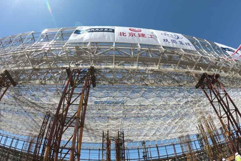 亚洲最大在建维修机库在北京新机场正式封顶