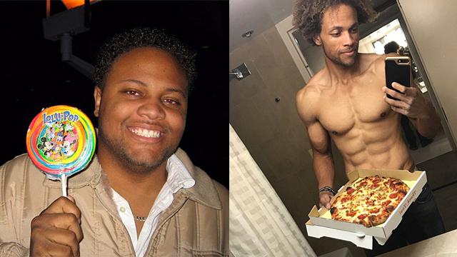 美父亲成功减肥88公斤变身肌肉型男