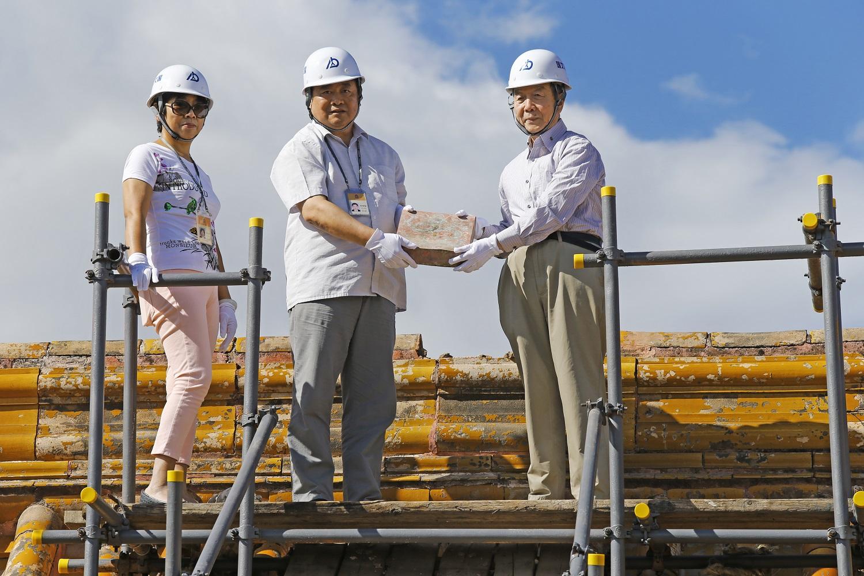 故宫养心殿研究性保护项目古建筑维修保护正式开工