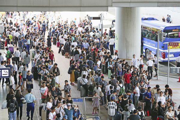 日本强台风已致11人死亡600余人受伤 3000余人滞留关西机场