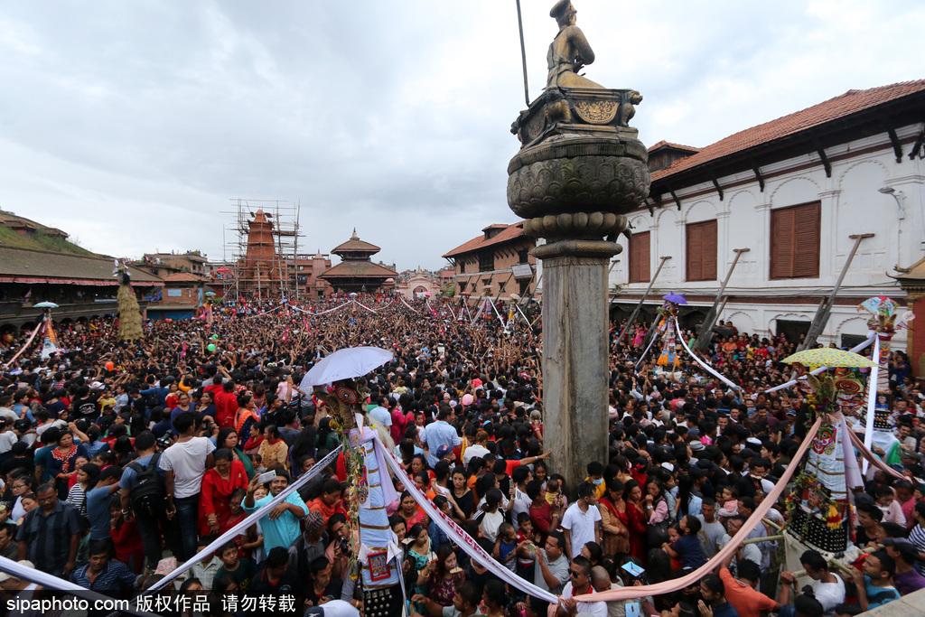 传统vs创新!加德满都街头表演者另类庆祝尼泊尔牛节