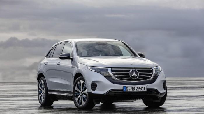 梅赛德斯-奔驰发布全新电动SUV:预计2020年上市