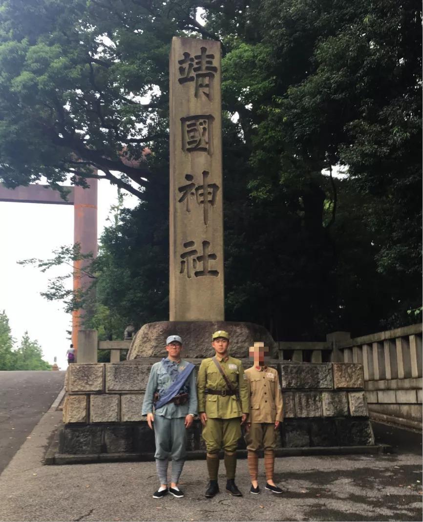 "pokerfacemv:穿着军服去靖国神社纪念抗战胜利的""中国军人""身份揭晓!"