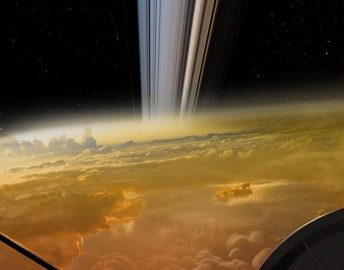 这张令人兴奋的土星环照片并非由卡西尼号拍摄