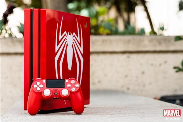 蜘蛛侠限定版PS4 Pro上手