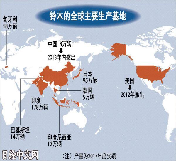 铃木与长安汽车解除合资关系 宣布退出中国市场