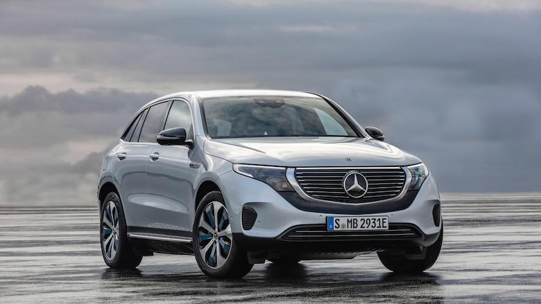 奔驰EQC纯电动SUV首发 2019年上半年投产