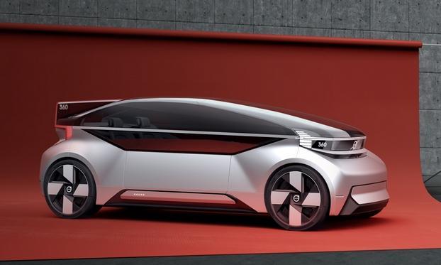 沃尔沃发布360c概念车 未来无人驾驶汽车前瞻
