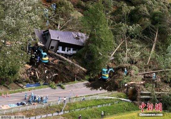 北海道强震致核电站外部电源失灵 启动应急发电