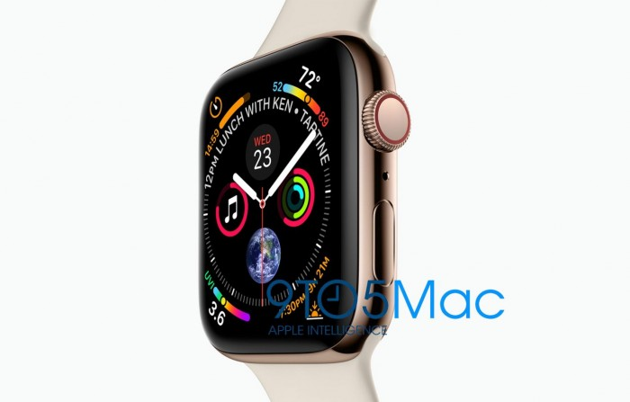 42mm新一代Apple Watch分辨率为384×480