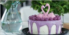 紫薯遇见蛋糕,这个夏天将养生与美味进行到底