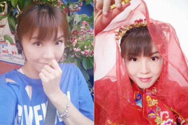 台女星呼吁大陆男孩娶台湾女孩 用爱完成两岸统一
