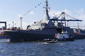 埃及扬眉吐气:自造追风2500护卫舰正式服役