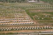 航拍美军最大飞机坟场