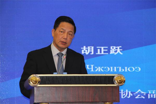 """胡正跃:新形势下,中国与沿线国家合作共建""""一带一路"""