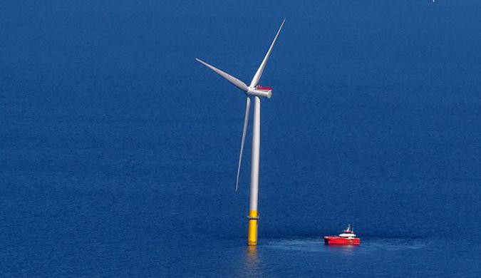 英格兰西北海岸开放世界上最大海上风电厂