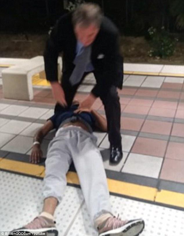 加州一男子将昏迷乘客拖下火车 警方称其不会面临指控