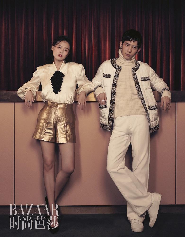 《时尚芭莎》十月上纪念刊初心系列时装电影