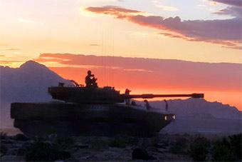 高原驻训 恶劣环境主战坦克性能依旧