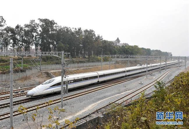 广西铁路展新颜(图)