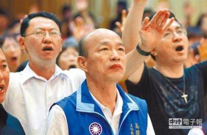 """民进党高雄基层""""铁票""""力挺韩国瑜 呼吁高雄乡亲觉醒!"""