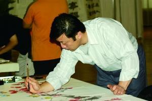 刘俊生,绘画是生活的一部分