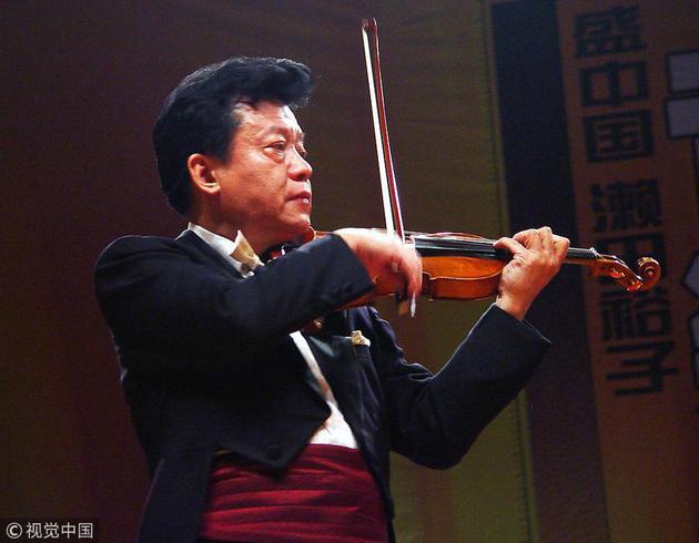 著名小提琴家盛中国心脏病突发逝世 住院已有时日