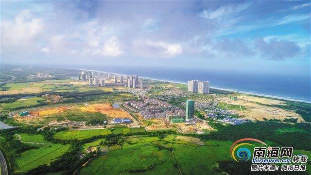 文昌月亮湾起步区项目有序推进 完成投资 143.91 亿