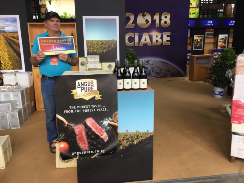 新西兰葡萄酒营销商罗勃:中国(贵州)国际酒类博览会助力新西兰美酒开拓中国市场