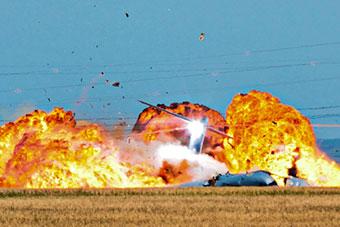 2015年A400M运输机坠毁全程未公布图片首次曝光