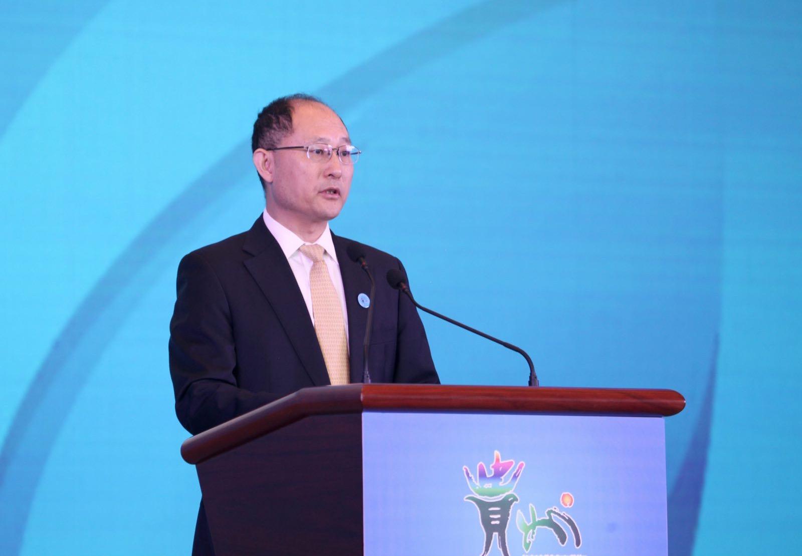 中国贸促会卢鹏起:展会功能作用和品牌影响力进一步放大