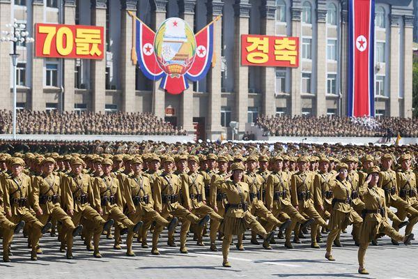现场直击朝鲜大阅兵!