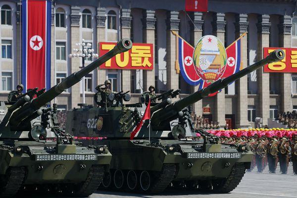朝鲜70周年大阅兵:多款重型装备亮相