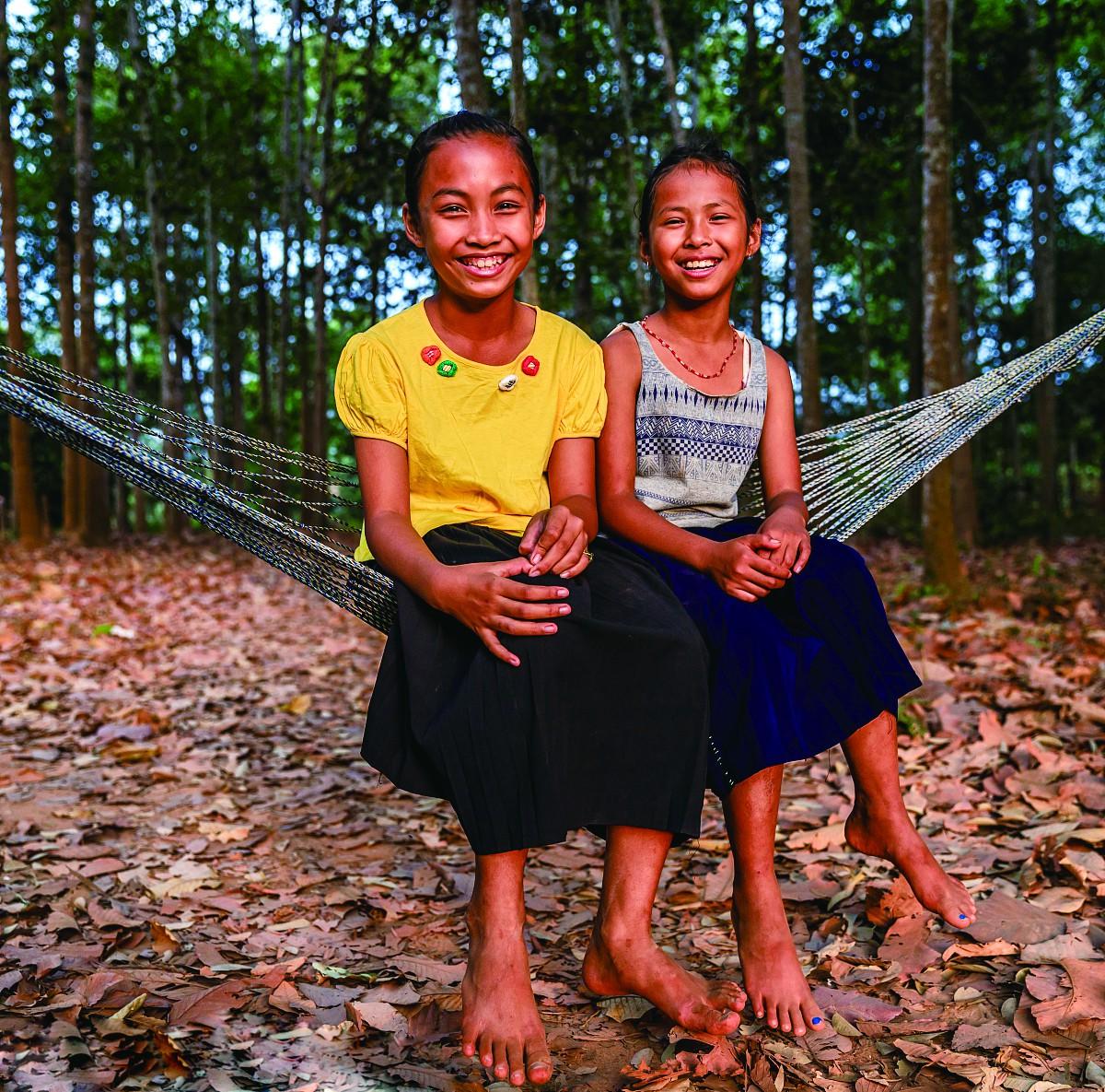 吊床,柬埔寨人的梦乐园