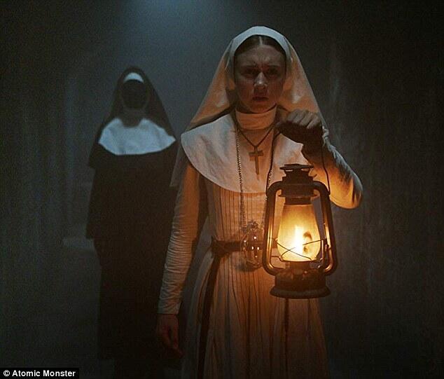 低成本恐怖片《修女》称霸北美票房榜